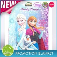 BSCI and SEDEX Disney factory polar fleece blanket frozen blanket