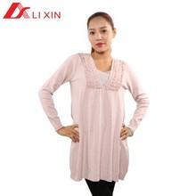 Adult loose sweater jumper dress woman