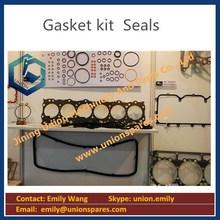 Mitsubishi Volvo Daewoo excavator engine parts,pistion,liner,gasket kit, seal kit for Engine
