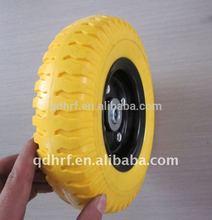 wheelbarrow wagon solid PU foam wheel 3.50-8/4.00-8