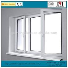 Single Tempered Glass Window/Sliding Window/Casement Window Supplier 1090