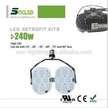 Football Stadium Lighting 1000W replacement, outdoor canopy lights retrofit kits, Car parking lot conversion