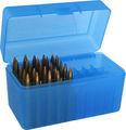 Plástico caixa de munição com plástico- dobradiça, mantenha o seu marcador