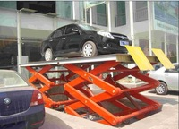 Fixed Shear Fork Hydraulic Car Lift Platform for loading and unloadng of cargos