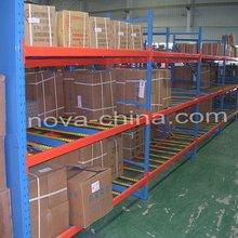 Gravity Flow Through Racking for Warehouse Storage