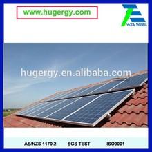 asphalt roof solar Pv mounting structure /Montaje de techo de teja
