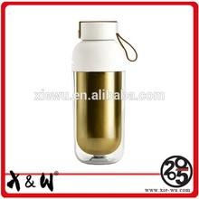 Factory Custom Design Leak-Proof Sport double wall ss shaker bottle