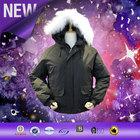 China New Design rain Football european winter coats