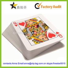 2014 Cheap professional custom playing card