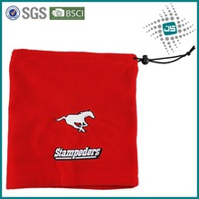 Hot fashion polar fleece tube neck gaiter with custom logo