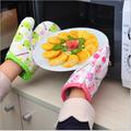nuevo 2015 lindos animales de dibujos animados del horno de microondas guantes