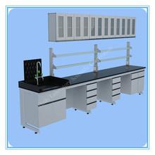 Large modern design Maple School Lab Industrial Table 8 Drawer