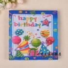 2ply/tablet Sales Promotion , 100% Virgin Wood Pulp Birthday Decoration Tissue Paper Napkin