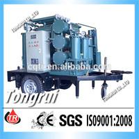 Multi-style transformer oil regeneration plant with transformer oil level sensor