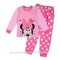 chidren uzun kollu pijama 2015 pamuk kızlar için pijama pijama takım