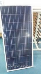 36pcs 18v poly type 120w 130w sola panel