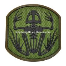 milspec monkey frog skeleton pvc tactical patch forest