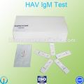 hav alta qualidade do vírus da hepatite a um passo kit de teste rápido de hepatite