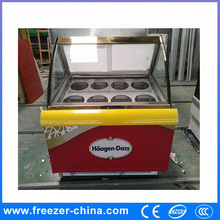 Made in China Sanye stainless steel basins used snack bar/hotel sliding glass door refrigerator