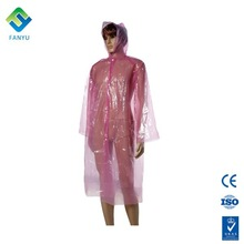 custom clear raincoat women in plastic raincoats