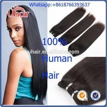 No tangle shedding free natural color grade 8a Virgin European Hair Straight