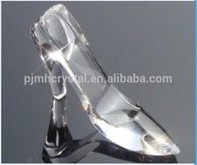 crystal souvenirs transparent high heel shoes MH-G0178