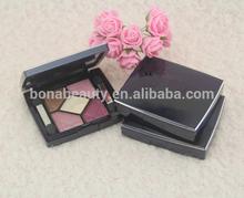 Eye shadow;christmas 5 fashion colors smokey-eye and nude make-up hot sale in 2014