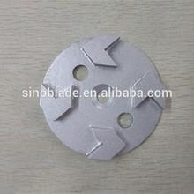 Grinding Concrete and Stone diamond grinding Plate Arrow Segment
