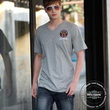 tie dyed Guangzhou 100% organic cotton high quality custom men t shirt style 2014
