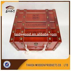 California Custom Wine Box Packaging