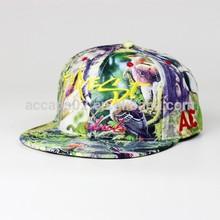 6 panel floppy plain blank snapback hat/polo cap