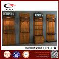 china fabricantes 4 forma roupa cremalheira de exposição de vitrine para roupas de loja de varejo