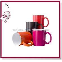 2015NEW!Factory directly sell sublimation face shape ceramic mug