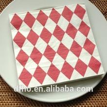 trending hot products stripe paper napkin oem original towels tissue for restaurant weeding napkin