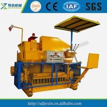 Low price mobile brick making machine,concrete block machine made in china