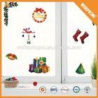 christmas ornament, big sale and fashion christmas pvc window stickers