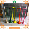 Chinese factory OEM cheap color plastic trumpet