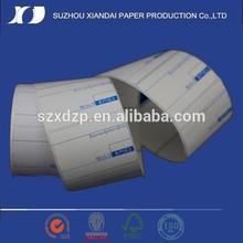 di alta qualità diretto 55mm x 60mm etichette termiche