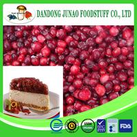 Fruit pulp from Frozen cranberry berries