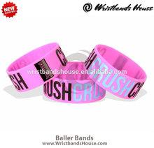 Newest bulk bangle bracelet   Beautiful custom bulk bangle bracelet   Promotion top sale silicone bangle bracelet