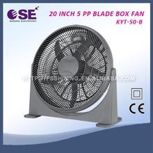 "2015 new stand box fan plastical box fan 20"" 20 inch hot sale box fan with high quality KYT-50-B"