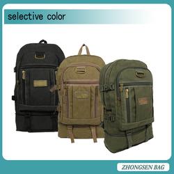 2015 Hot Backpack OEM Good Quality Fashionable Canvas Backpacks