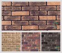 Used exterior brick panels