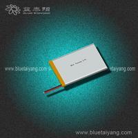 Customized 404965 1272mAh battery pack 3.7v