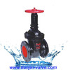 Wedge gate valve,gear operated double expanding gate valve