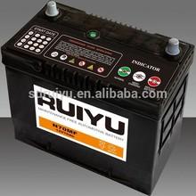 N70Z 12V 75AH car battery economici batterie per auto 12v