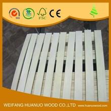 laminated bent wooden bed slats