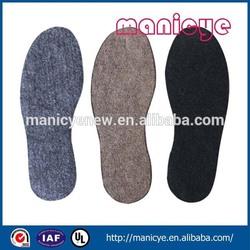 Durable plain style non woven technics shoes material