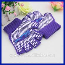 Women sports yoga fingerless gloves