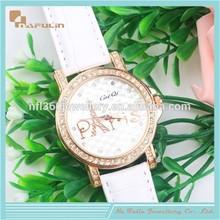 NAFULIN Cheap ot sale leather watch quartz watch parts movement quartz loom watch